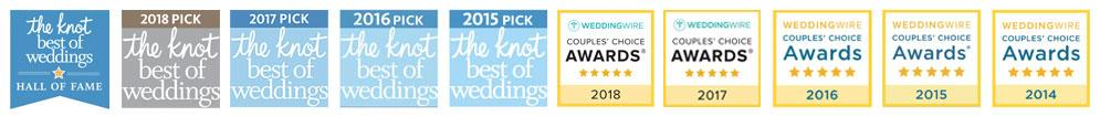 The Knot Best of Weddings & Couple's Choice Award Winner