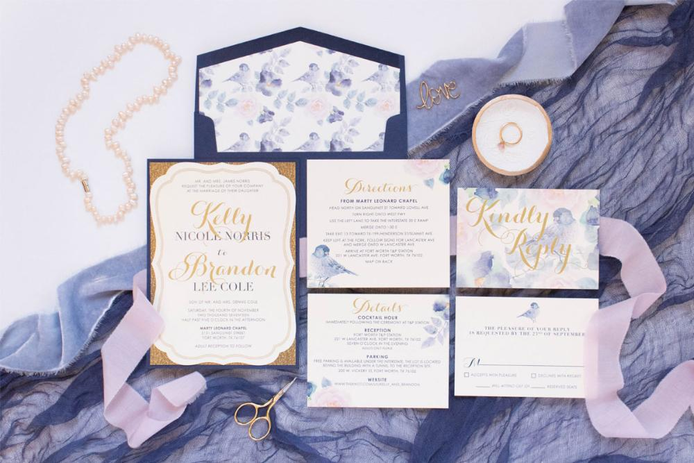 Layered Wedding Invitations