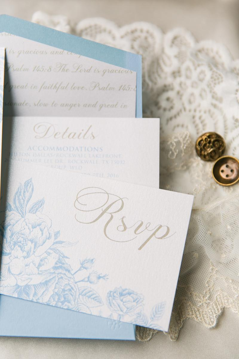 Brown Fox Creative - Light & Airy Blue and Gold Vintage Floral ...